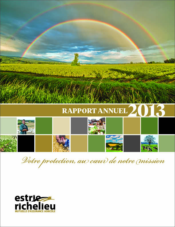 Annual Report - Richelieu Estrie 2013 blanket