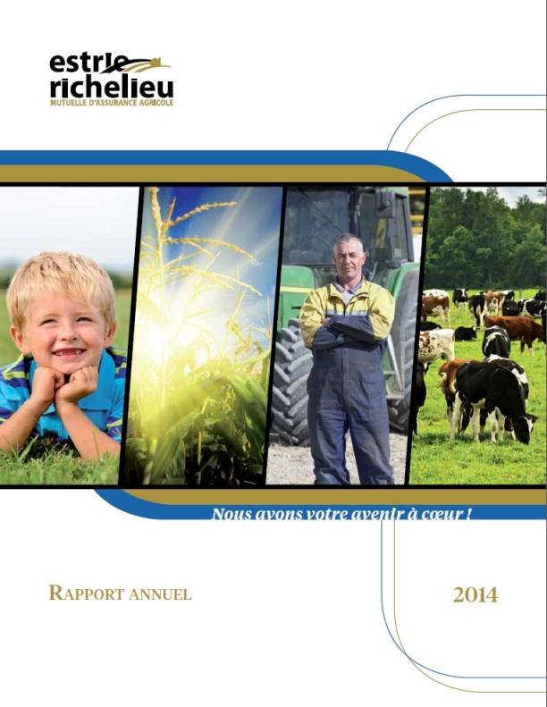 Annual Report - Richelieu Estrie 2014 blanket