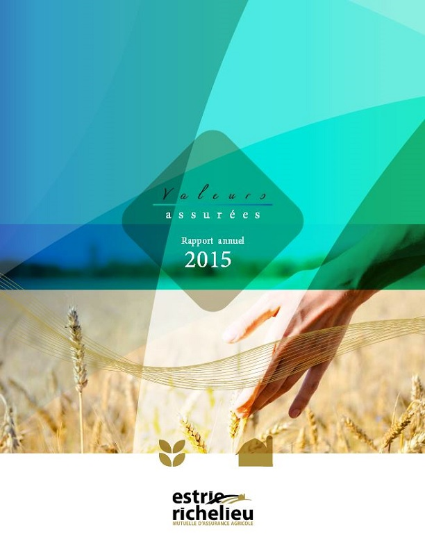 Annual Report - Richelieu Estrie 2015 blanket