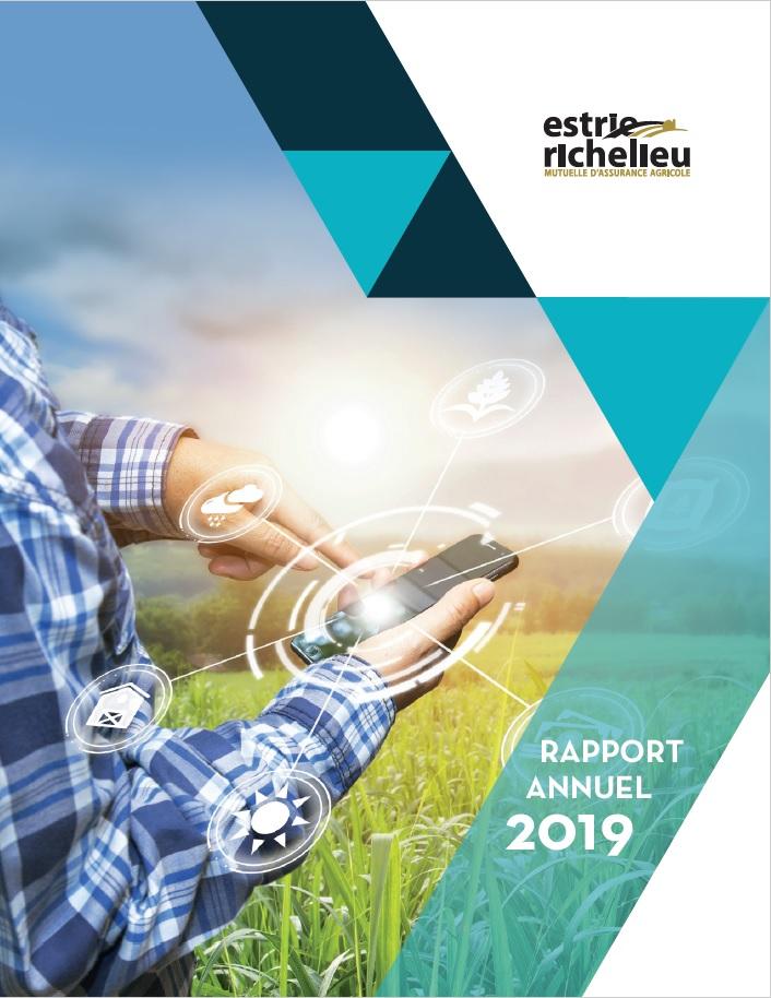 Rapport annuel - Estrie Richelieu 2016 couverture